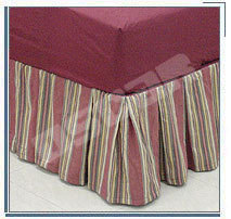 Striped Bedskirt