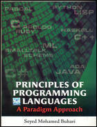 Principles Of Programming Languages A Paradigm Approach