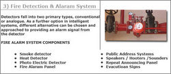 Fire Detection & Alarm System Services