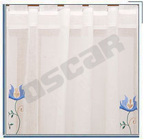 Voile Embroidered Curtain