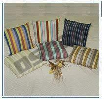Cotton Stripe Cushion Cover
