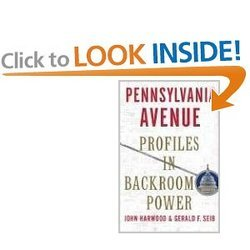 Pennsylvania Avenue Profiles In Backroom Power Hardcover