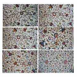 Crewel Furnishing Fabric