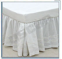 Ticking Bedskirt