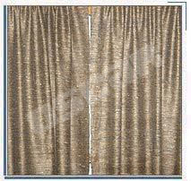 Silk Curtain Drape