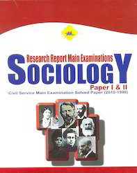 Sociology Research Report Solved Paper I & II