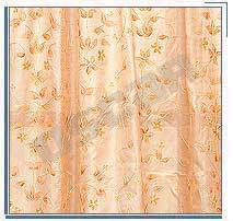 Silk Embroidered Curtain