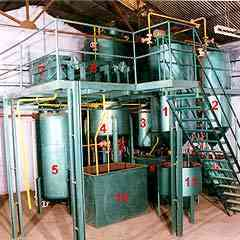 Tiny Edible Oil Refinery