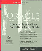 Oracle Certtified Professional Financial Application Exam GD