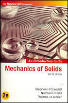 An Introduction To The Mechanics Of Solids In SI Units