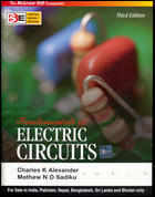 Fundamentals Of Electric Circuits SIE
