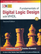 Fundamentals Of Digital Logic Design With VHDL SIE