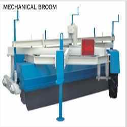 Mechanical Broom Machine