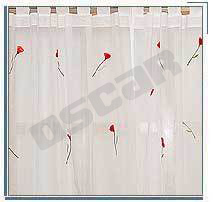 Machine Embroidered Curtain