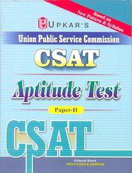 UPSC CSAT Aptitude Test Paper-II