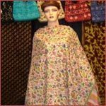 Pashmina hand-embroidered full length ladies shawls.
