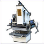 Number Plate Stamping Machine
