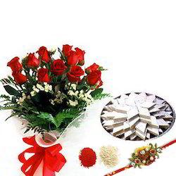 rakhi-roses-with-1kg-kaju-katli