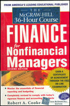 The Mcgraw-hill 36-hour Course In Finance Managers
