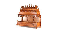 we design wooden mandir in various sizes designs patterns and ...