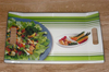 Square Dinnerware-Linear Peals Tray